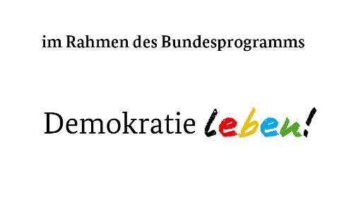 Logo des Förderprogramms Demokratie Leben