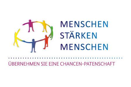 Logo des Förderprogramms Menschen stärken Menschen