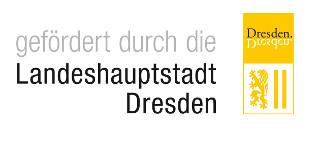 Logo Förderung Landeshauptstadt Dresden