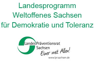 Logo Weltoffenes Sachsen für Demokratie und Toleranz