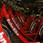 Die Bahn Bikes in den Katakomben des Hauptbahnhofs