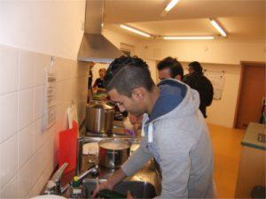 Vorbereitung Kochen Löbtau