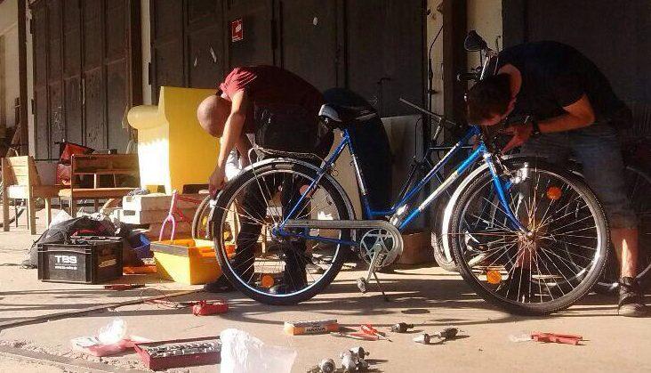 Fahrradwerkstatt - coroanakonform