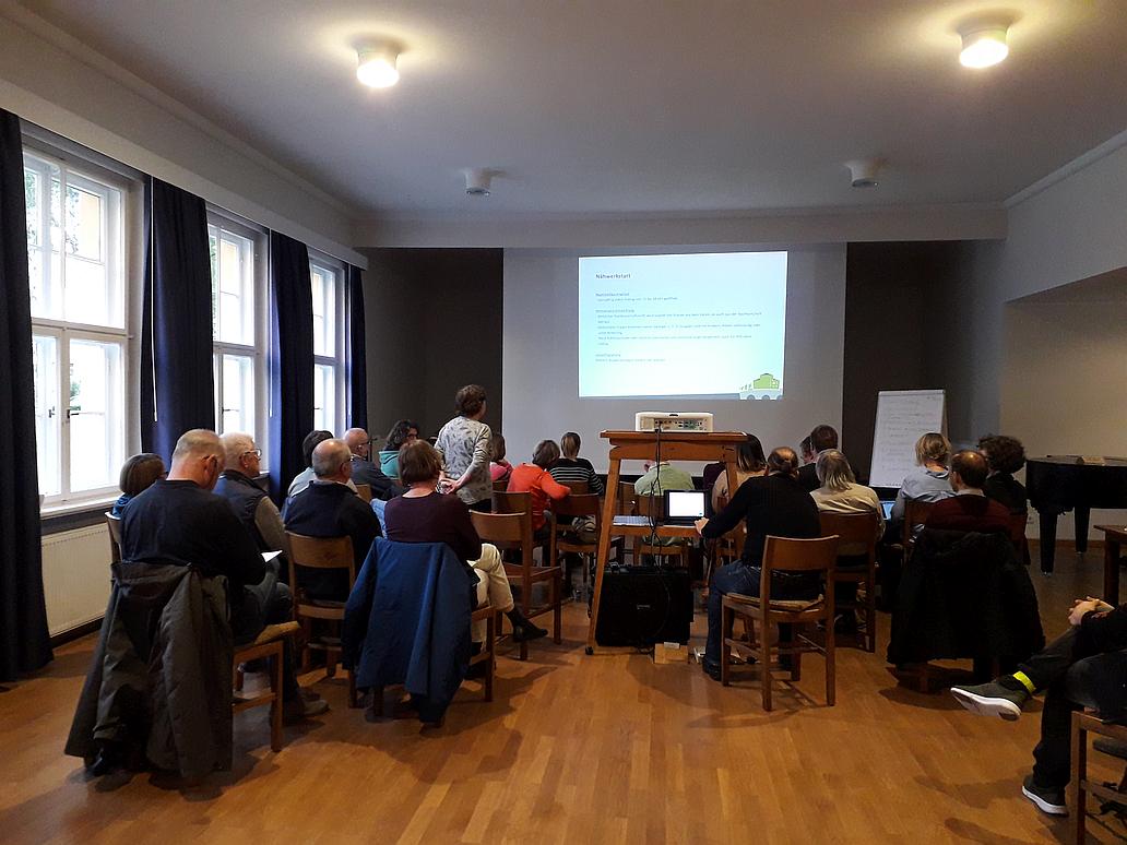 Mitgliedervollversammlung 2021 von Willkommen in Löbtau